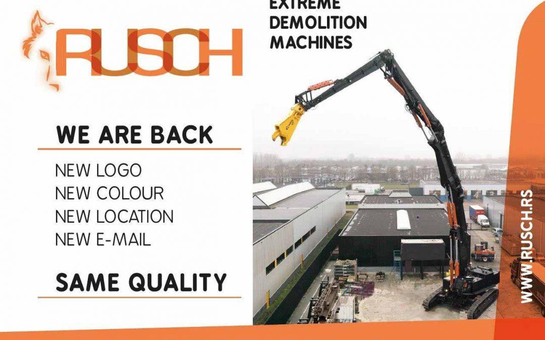 Special demolition machines
